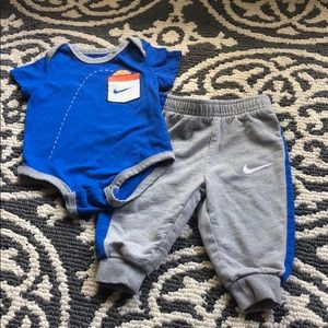 Nike baby boy joggers outfit 6-9 months